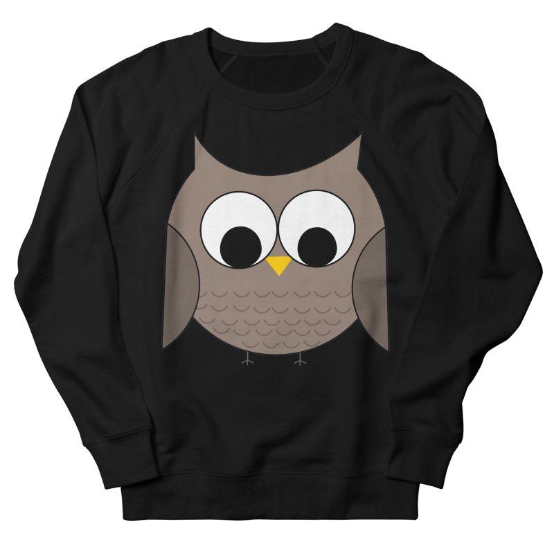 Owl in the Sky Women's Sponge Fleece Sweatshirt by denisegraphiste's Artist Shop
