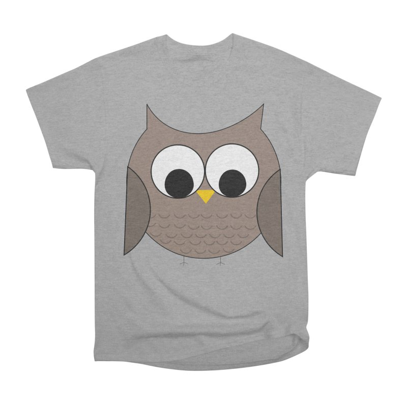 Owl in the Sky Men's Heavyweight T-Shirt by denisegraphiste's Artist Shop