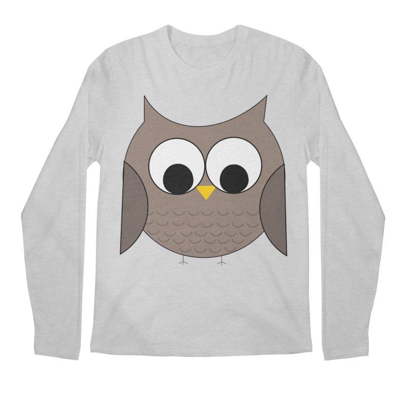 Owl in the Sky Men's Regular Longsleeve T-Shirt by denisegraphiste's Artist Shop