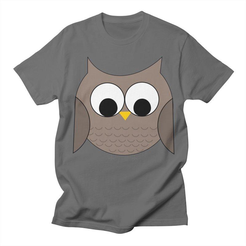 Owl in the Sky Men's T-Shirt by denisegraphiste's Artist Shop