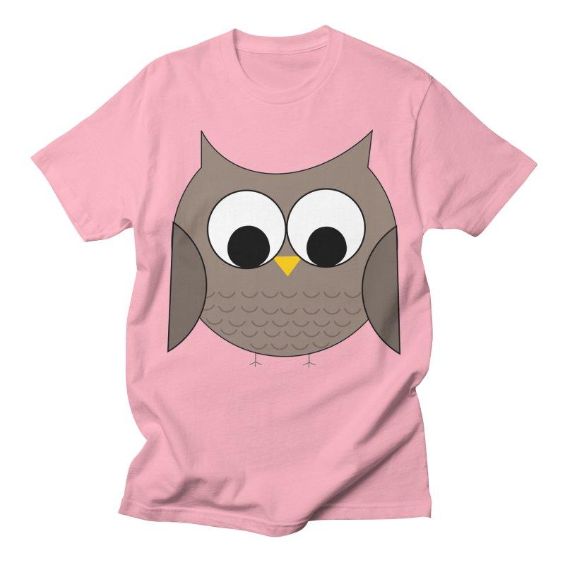 Owl in the Sky Women's Regular Unisex T-Shirt by denisegraphiste's Artist Shop