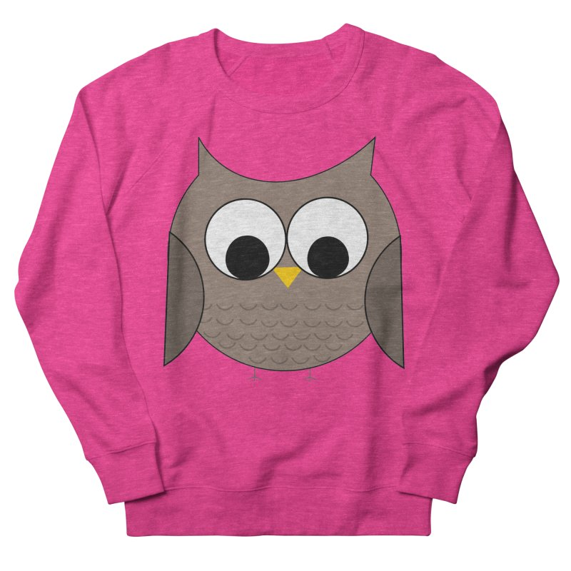 Owl in the Sky Men's French Terry Sweatshirt by denisegraphiste's Artist Shop