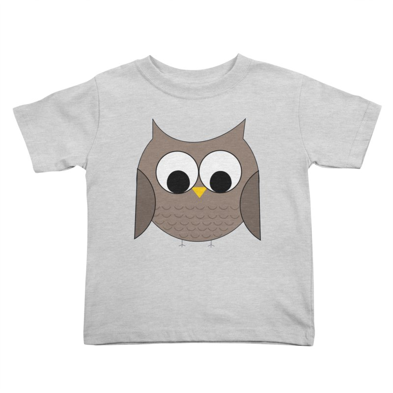 Owl in the Sky Kids Toddler T-Shirt by denisegraphiste's Artist Shop