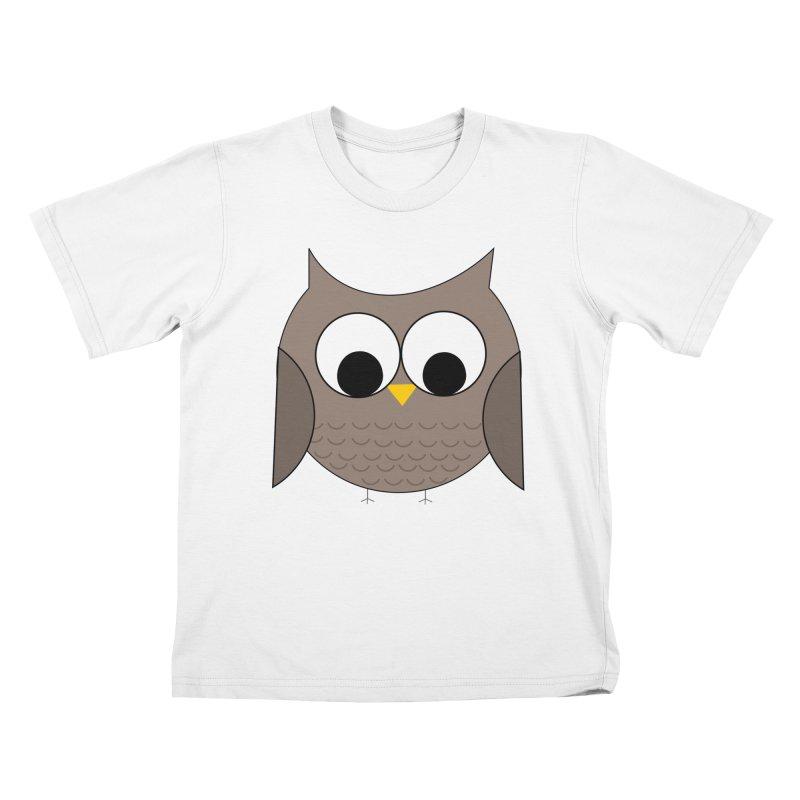 Owl in the Sky Kids T-Shirt by denisegraphiste's Artist Shop