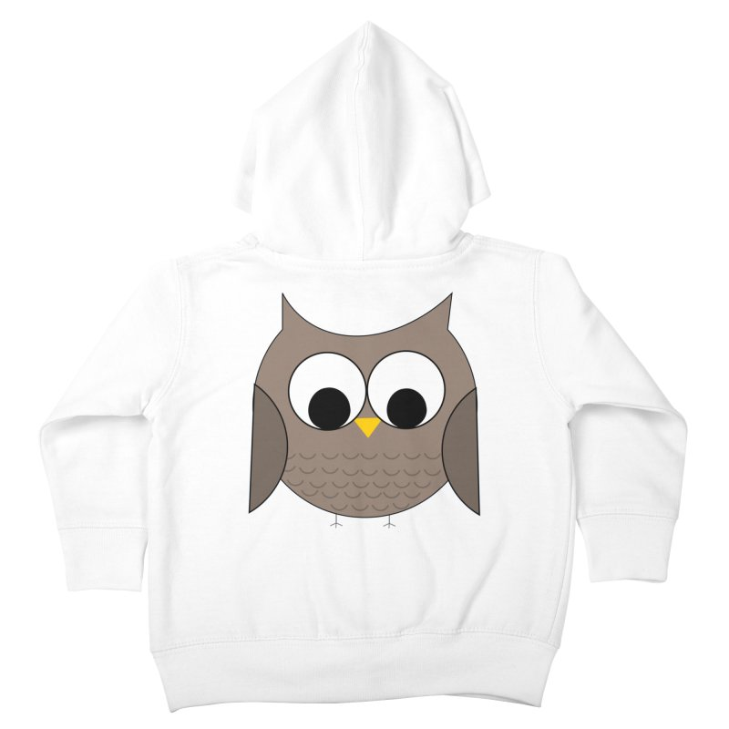 Owl in the Sky Kids Toddler Zip-Up Hoody by denisegraphiste's Artist Shop