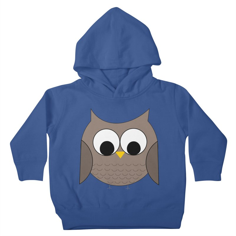 Owl in the Sky Kids Toddler Pullover Hoody by denisegraphiste's Artist Shop