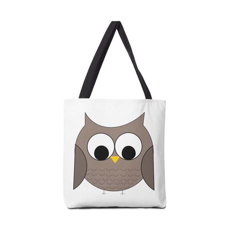Owl in the Sky Accessories Tote Bag Bag by denisegraphiste's Artist Shop