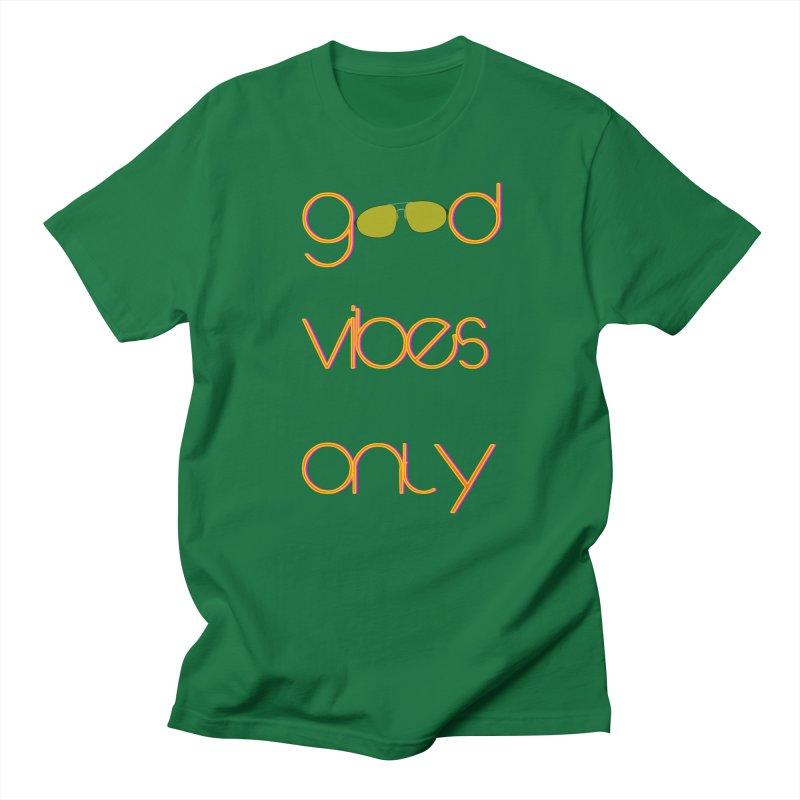 Good Vibes Only Men's T-Shirt by denisegraphiste's Artist Shop