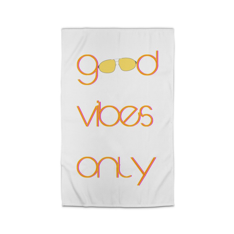 Good Vibes Only Home Rug by denisegraphiste's Artist Shop