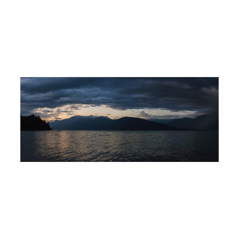 Panorama of Harrison lake at Dusk by denjinosee