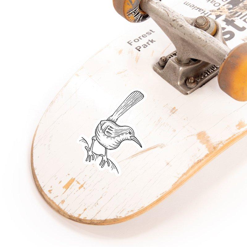 Carolina Wren Accessories Sticker by Dennis Good