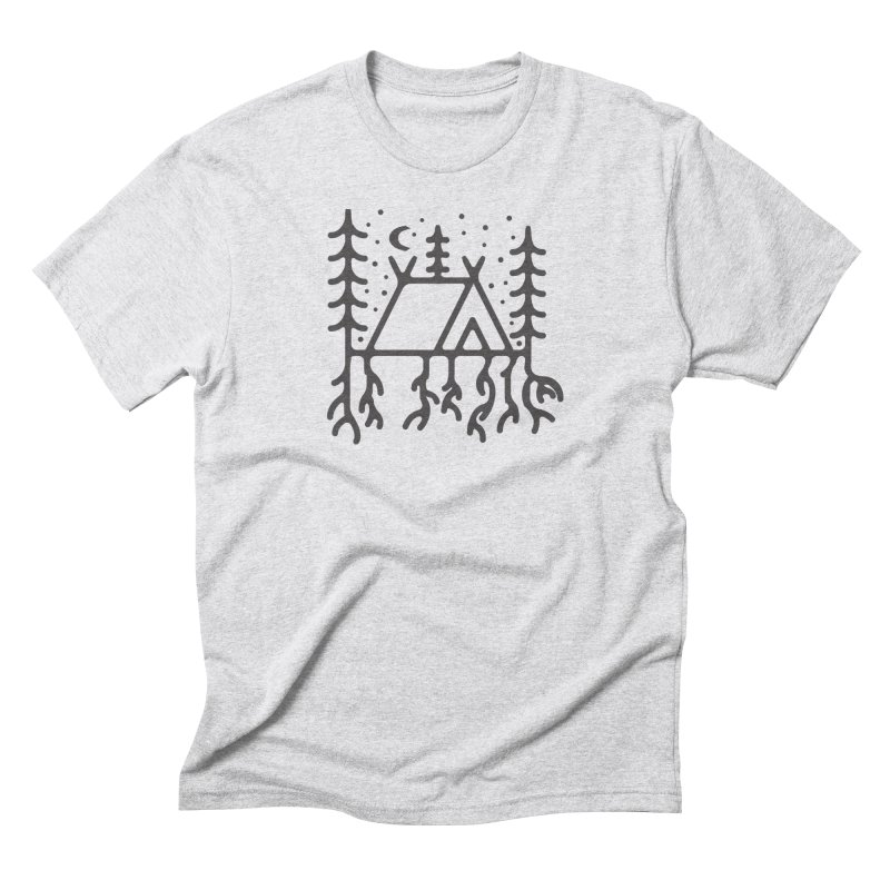 Setting Roots Men's T-Shirt by Dennis Good