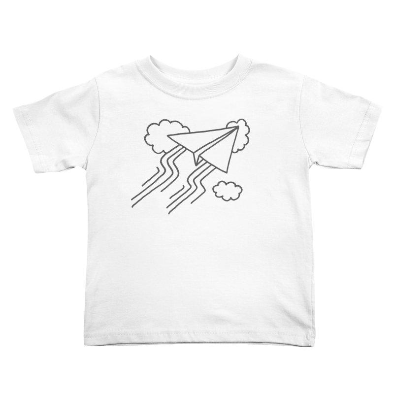 Flying High Kids Toddler T-Shirt by Dennis Good