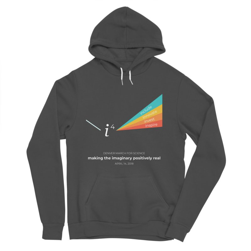 Denver March For Science i^4 Men's Sponge Fleece Pullover Hoody by Denver March For Science's Artist Shop