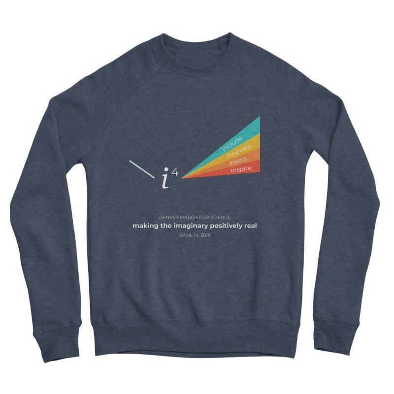 Denver March For Science i^4 Men's Sponge Fleece Sweatshirt by Denver March For Science's Artist Shop