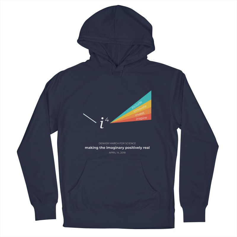 Denver March For Science i^4 Men's Pullover Hoody by Denver March For Science's Artist Shop