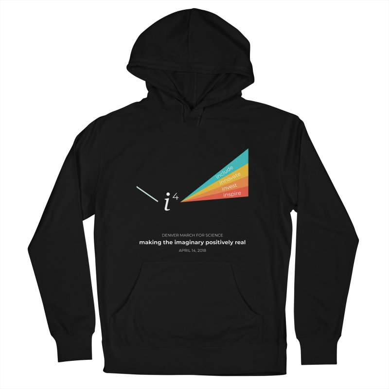 Denver March For Science i^4 Women's French Terry Pullover Hoody by Denver March For Science's Artist Shop