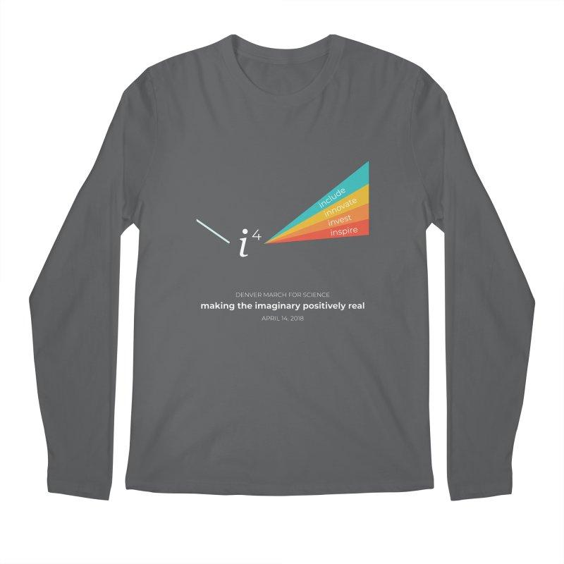Denver March For Science i^4 Men's Longsleeve T-Shirt by Denver March For Science's Artist Shop