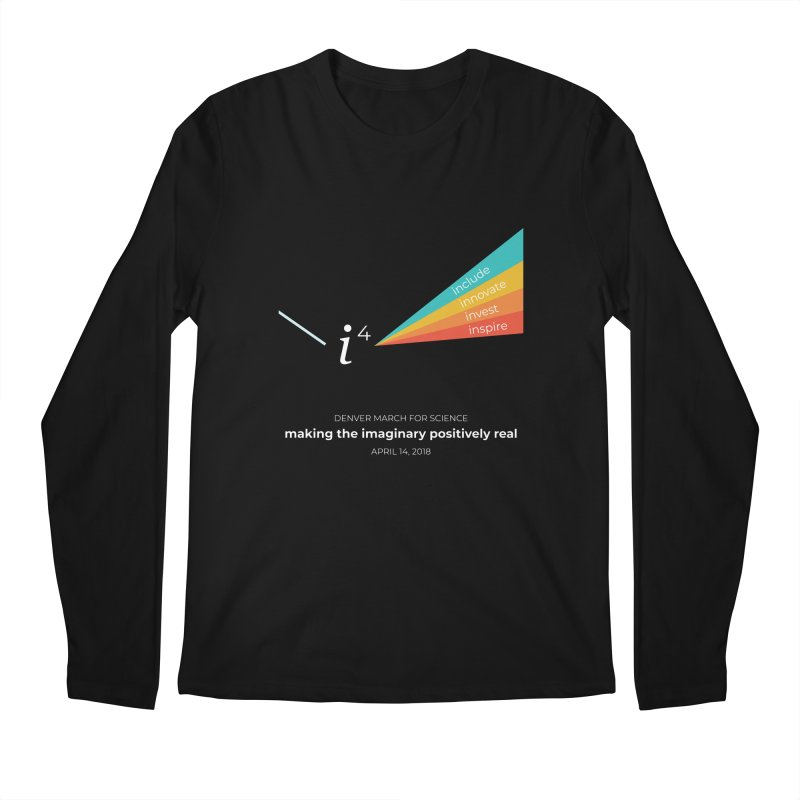 Denver March For Science i^4 Men's Regular Longsleeve T-Shirt by Denver March For Science's Artist Shop