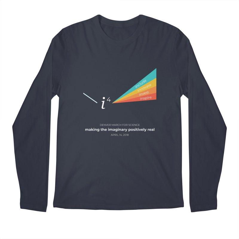 Denver March For Science i^4 Men's Regular Longsleeve T-Shirt by Denver March For Science's Artist Shop