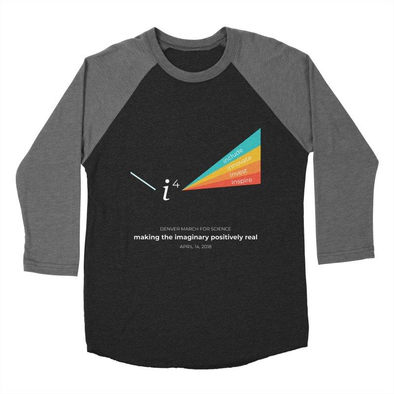Denver March For Science i^4 Men's Baseball Triblend T-Shirt by Denver March For Science's Artist Shop