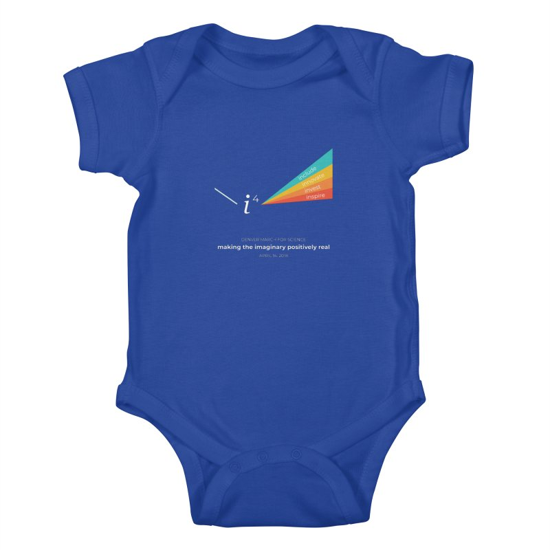Denver March For Science i^4 Kids Baby Bodysuit by Denver March For Science's Artist Shop