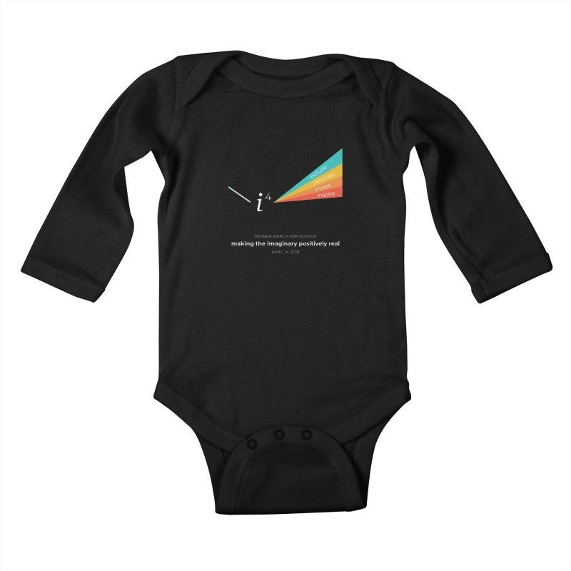 Denver March For Science i^4 Kids Baby Longsleeve Bodysuit by Denver March For Science's Artist Shop