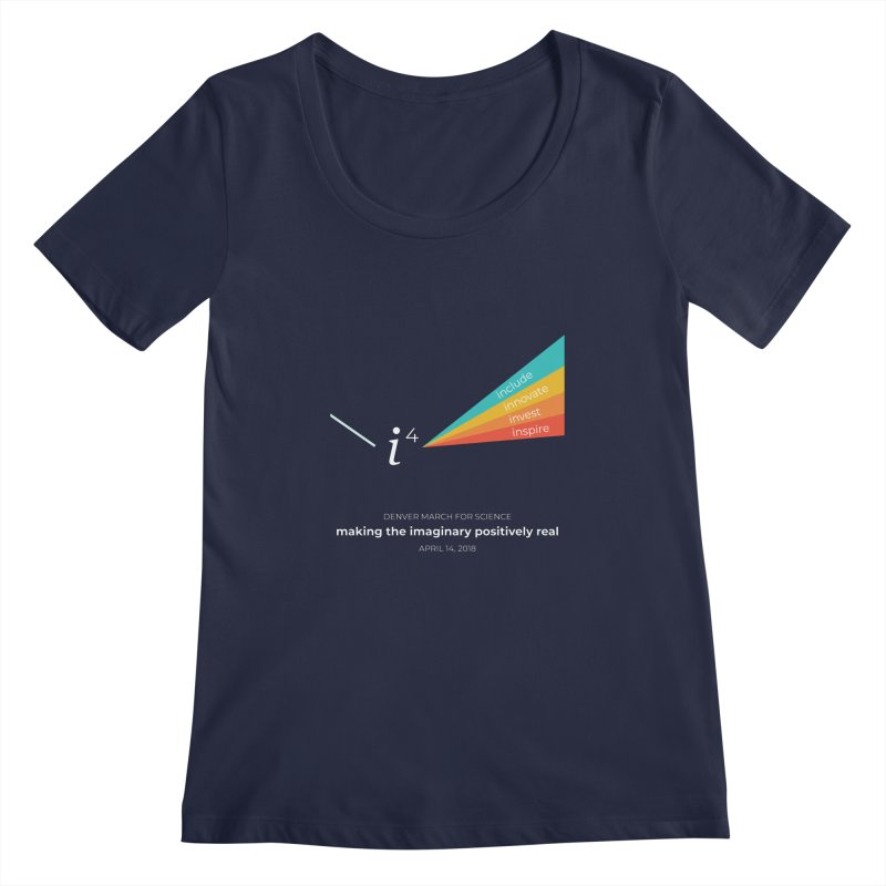 Denver March For Science i^4 Women's Regular Scoop Neck by Denver March For Science's Artist Shop