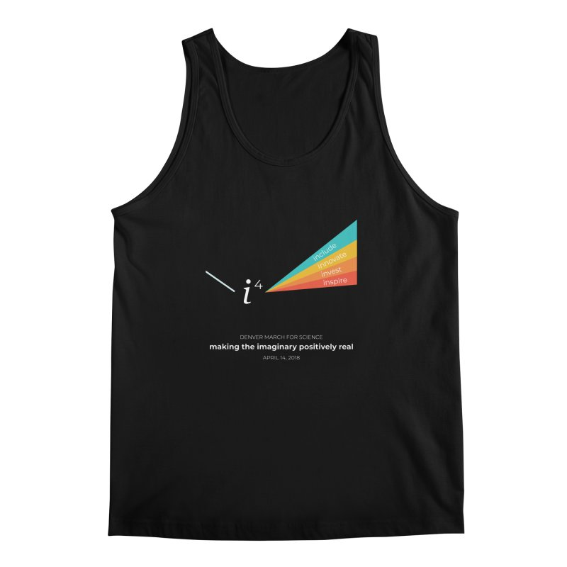 Denver March For Science i^4 Men's Regular Tank by Denver March For Science's Artist Shop