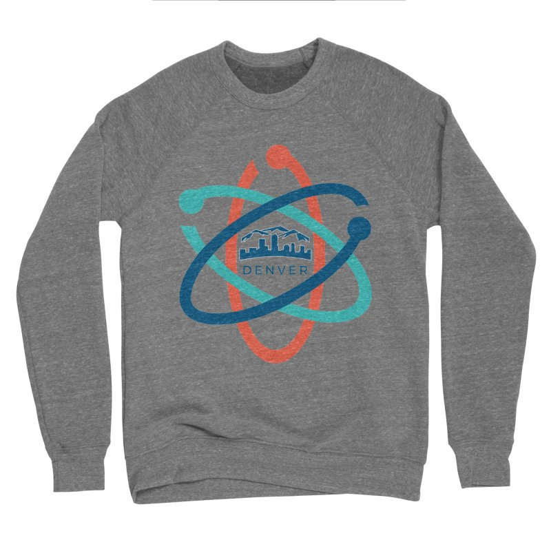 Denver March For Science Logo Men's Sweatshirt by Denver March For Science's Artist Shop