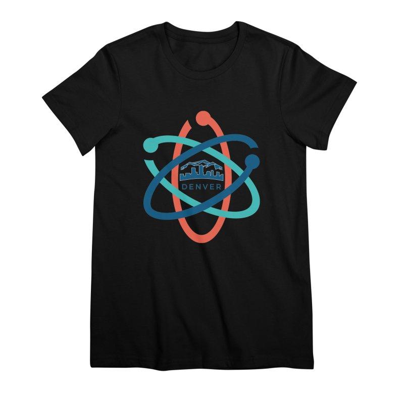 Denver March For Science Logo Women's Premium T-Shirt by Denver March For Science's Artist Shop