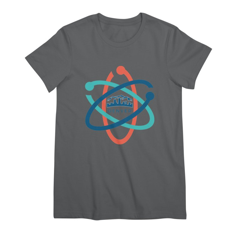 Denver March For Science Logo Women's Premium T-Shirt by Denver March For Science's Artist Shop