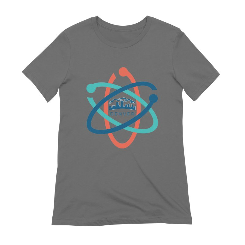 Denver March For Science Logo Women's Extra Soft T-Shirt by Denver March For Science's Artist Shop