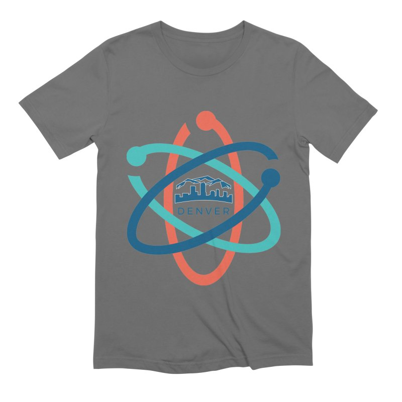 Denver March For Science Logo Men's Extra Soft T-Shirt by Denver March For Science's Artist Shop