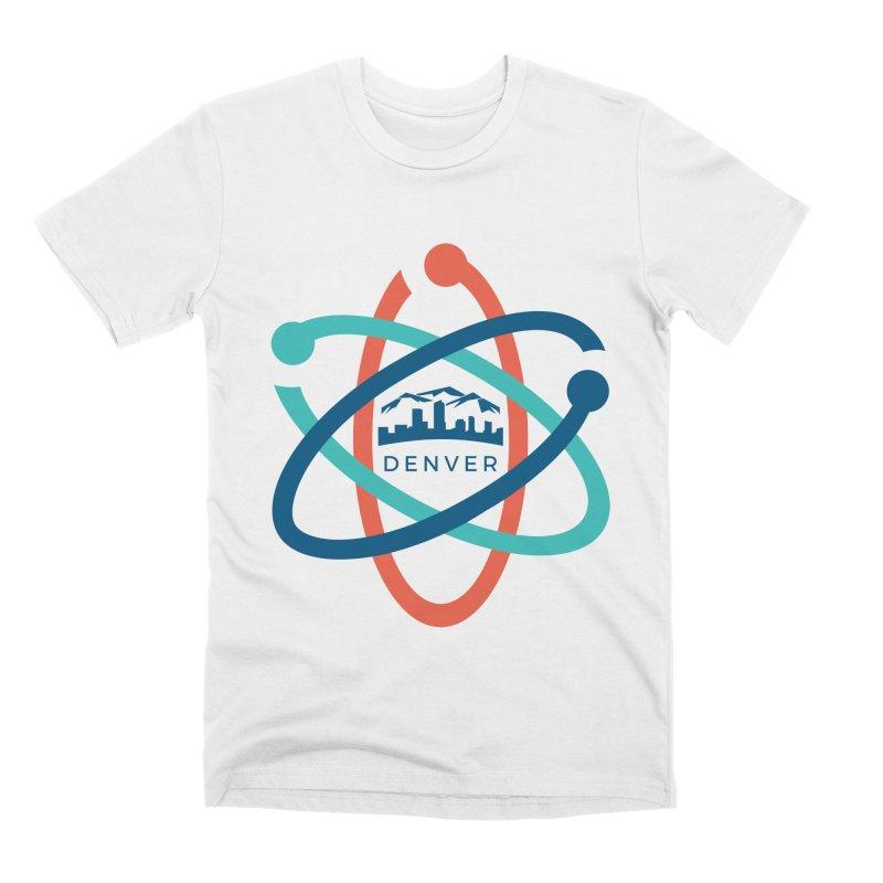 Denver March For Science Logo Men's Premium T-Shirt by Denver March For Science's Artist Shop
