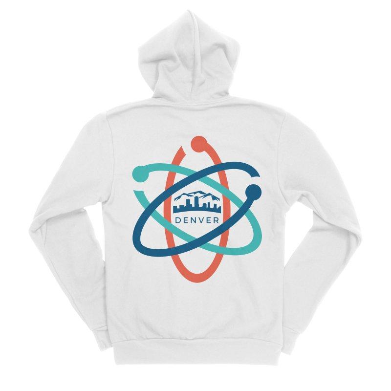 Denver March For Science Logo Women's Zip-Up Hoody by Denver March For Science's Artist Shop