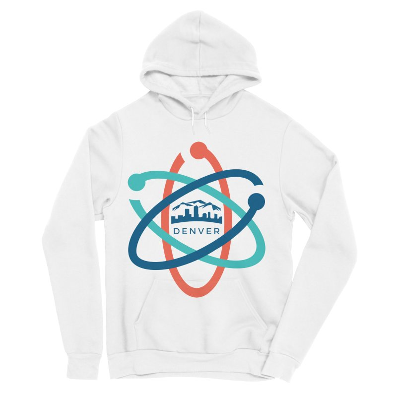 Denver March For Science Logo Men's Sponge Fleece Pullover Hoody by Denver March For Science's Artist Shop
