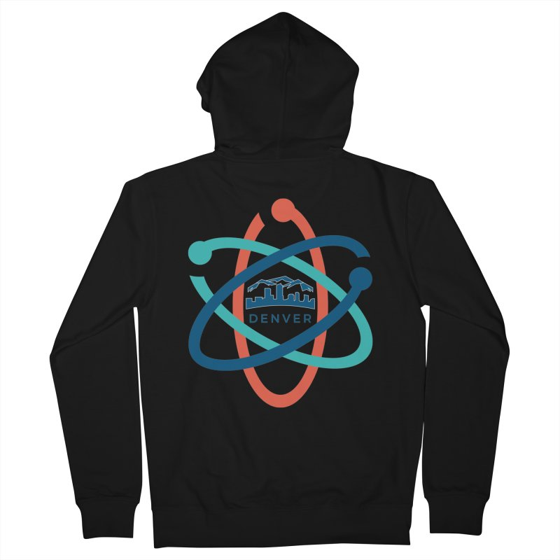 Denver March For Science Logo Men's Zip-Up Hoody by Denver March For Science's Artist Shop