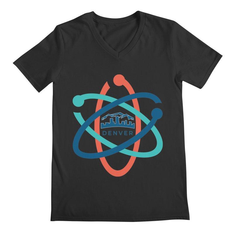 Denver March For Science Logo Men's V-Neck by Denver March For Science's Artist Shop