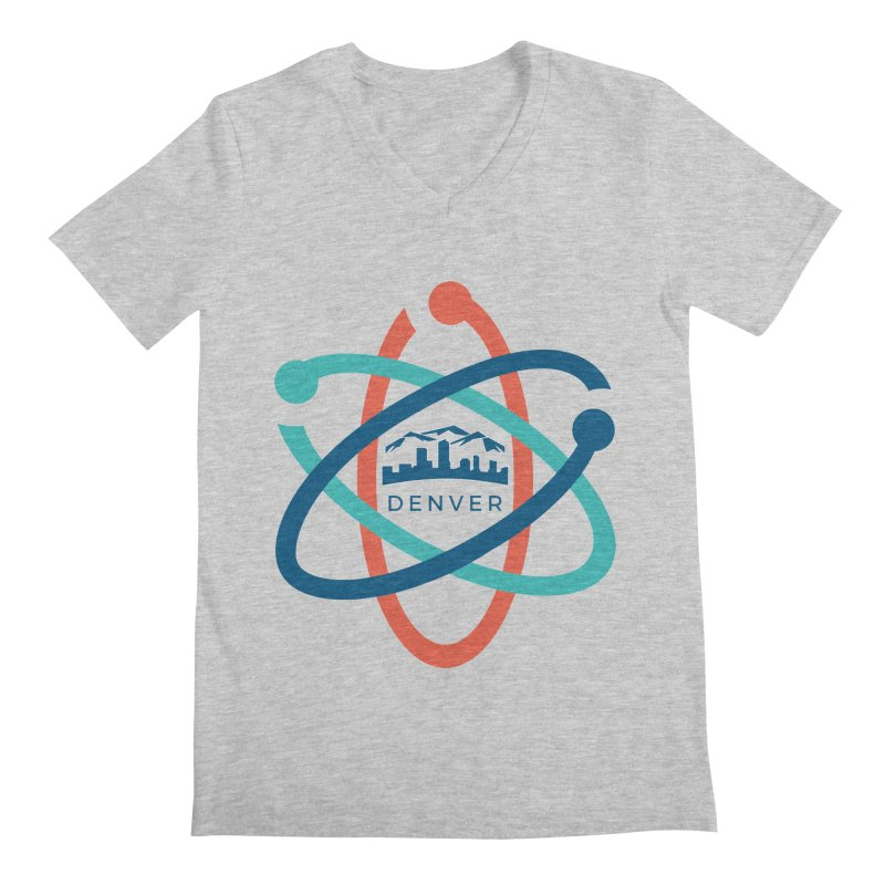 Denver March For Science Logo Men's V-Neck by Denver March For Science's Artist Shop