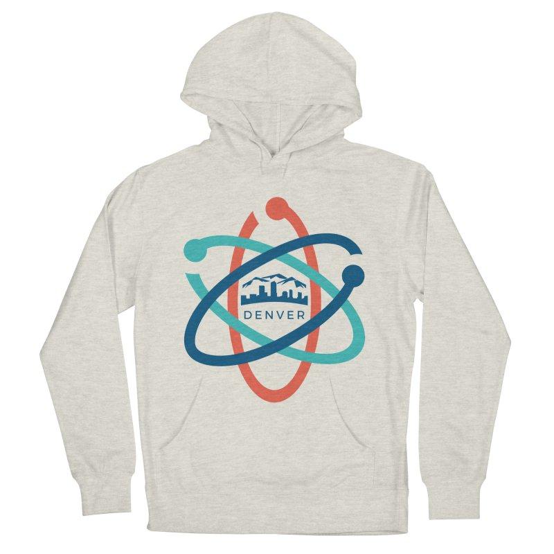 Denver March For Science Logo Men's French Terry Pullover Hoody by Denver March For Science's Artist Shop
