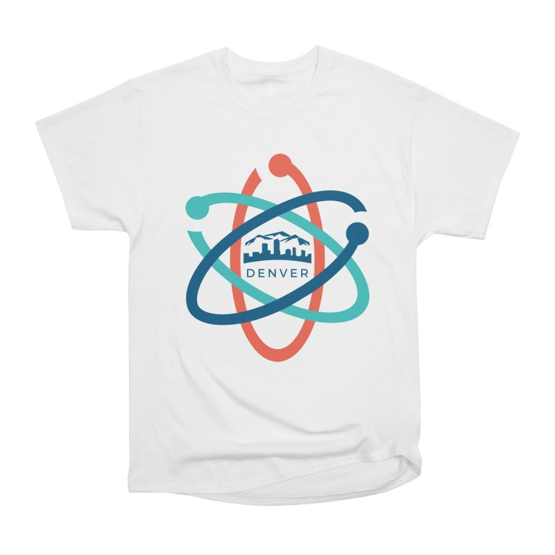Denver March For Science Logo Men's Heavyweight T-Shirt by Denver March For Science's Artist Shop