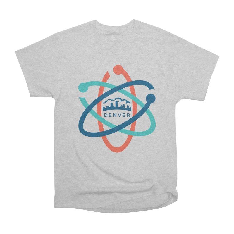 Denver March For Science Logo Women's Heavyweight Unisex T-Shirt by Denver March For Science's Artist Shop