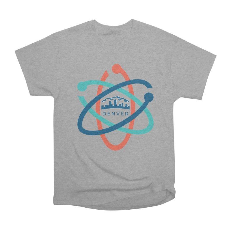 Denver March For Science Logo Men's Heavyweight T-Shirt by Denver March For Science's Artist Shop