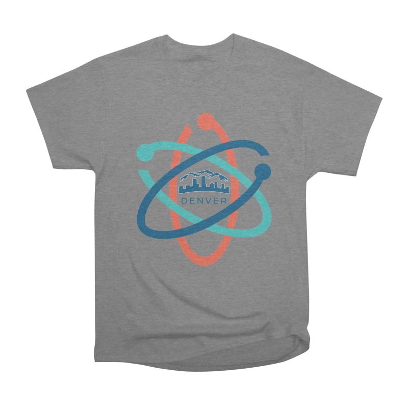 Denver March For Science Logo Women's Heavyweight Unisex T-Shirt by Denver March For Science's Artist Shop