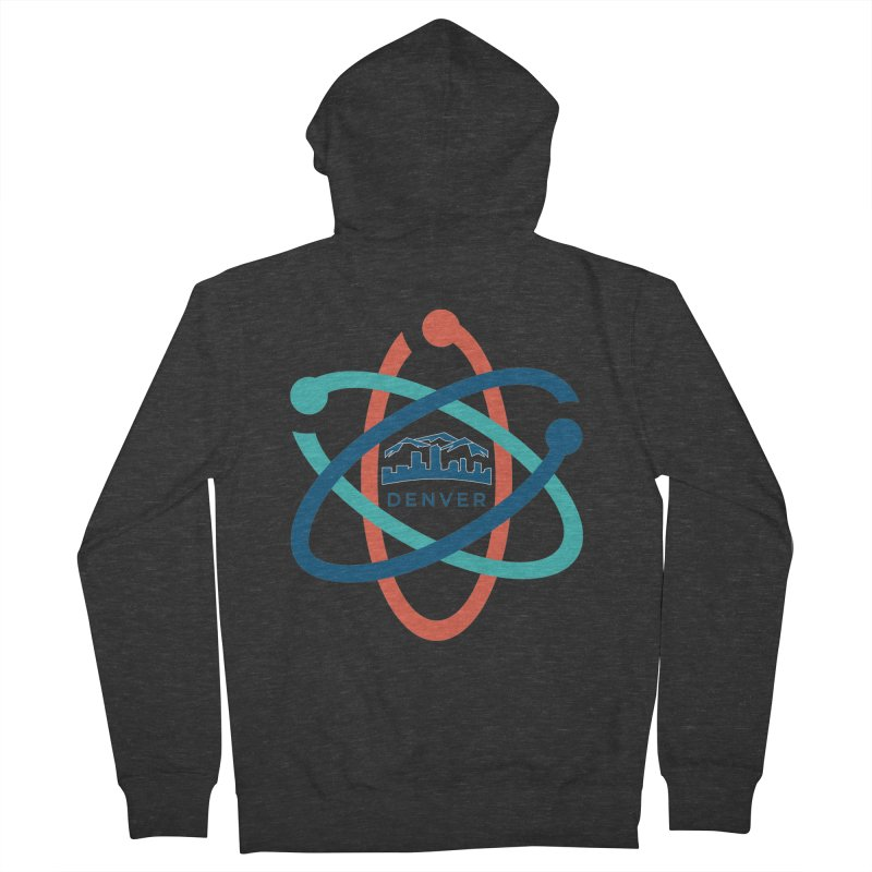 Denver March For Science Logo Women's French Terry Zip-Up Hoody by Denver March For Science's Artist Shop