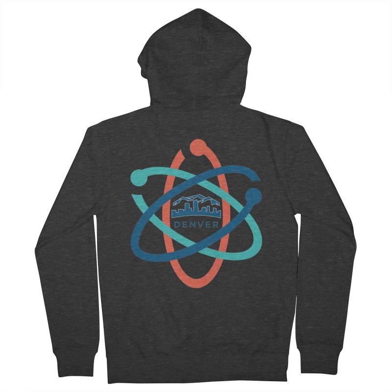 Denver March For Science Logo Men's French Terry Zip-Up Hoody by Denver March For Science's Artist Shop