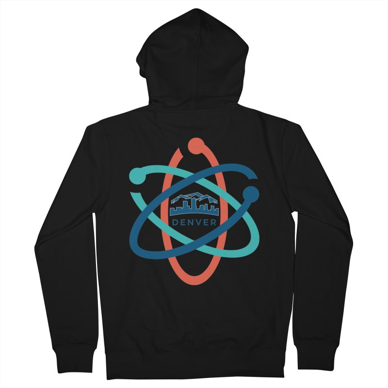 Denver March For Science Logo Men's French Terry Zip-Up Hoody by Denver March For Science's Artist Shop