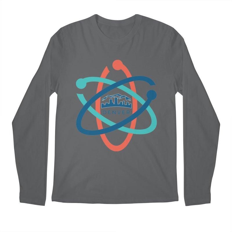 Denver March For Science Logo Men's Regular Longsleeve T-Shirt by Denver March For Science's Artist Shop