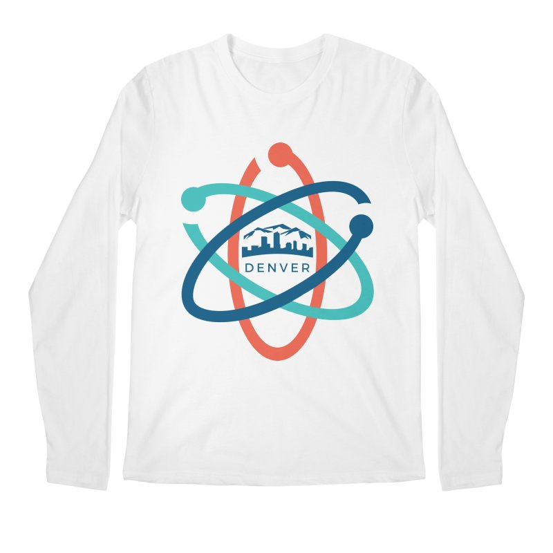Denver March For Science Logo Men's Regular Longsleeve T-Shirt by Denver March For Science's Artist Shop
